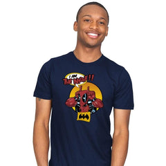 I'M THE NIGHT Reprint - Mens - T-Shirts - RIPT Apparel