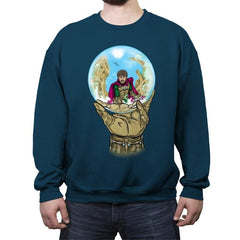 Mysterio Escher - Crew Neck Sweatshirt - Crew Neck Sweatshirt - RIPT Apparel