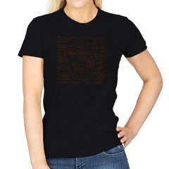 Minifigure Plan Exclusive - Brick Tees - Womens - T-Shirts - RIPT Apparel