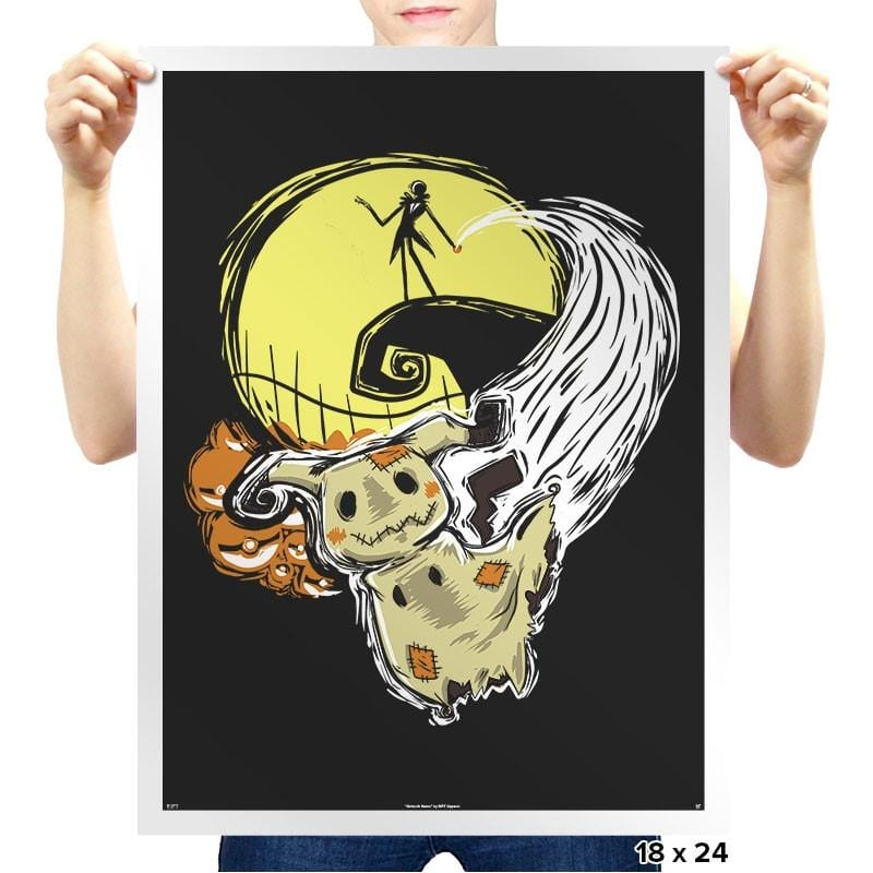 Nightmare Before Mimikyu - Prints - Posters - RIPT Apparel