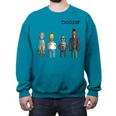BOOZER - Crew Neck Sweatshirt - Crew Neck Sweatshirt - RIPT Apparel
