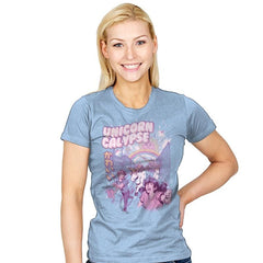 Unicorn Calypse - Womens - T-Shirts - RIPT Apparel