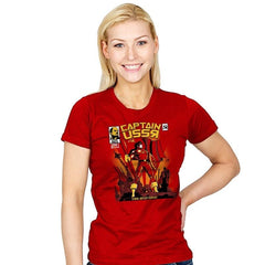 Captain USSR: Issue 1 Exclusive - Womens - T-Shirts - RIPT Apparel