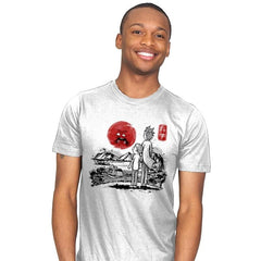 Screaming Red Sun - Mens - T-Shirts - RIPT Apparel