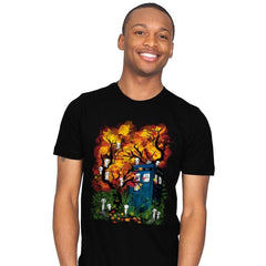 The Doctor in the Forest - Mens - T-Shirts - RIPT Apparel