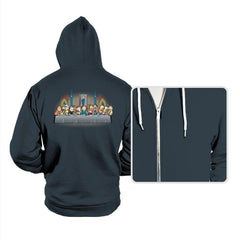 Morty's dinner - Hoodies - Hoodies - RIPT Apparel