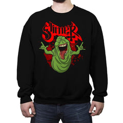 Slimy Ghost - Crew Neck Sweatshirt - Crew Neck Sweatshirt - RIPT Apparel