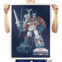 8Dtron Exclusive - Saturday Morning Tees - Prints - Posters - RIPT Apparel