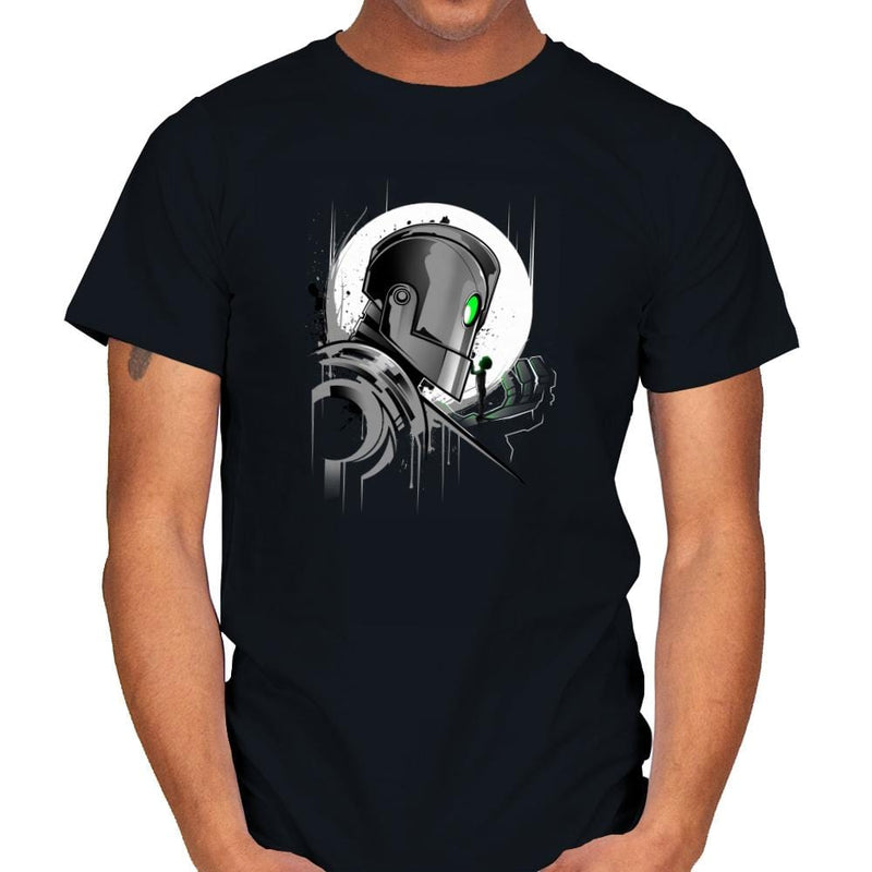 My Giant Friend - Graffitees - Mens - T-Shirts - RIPT Apparel