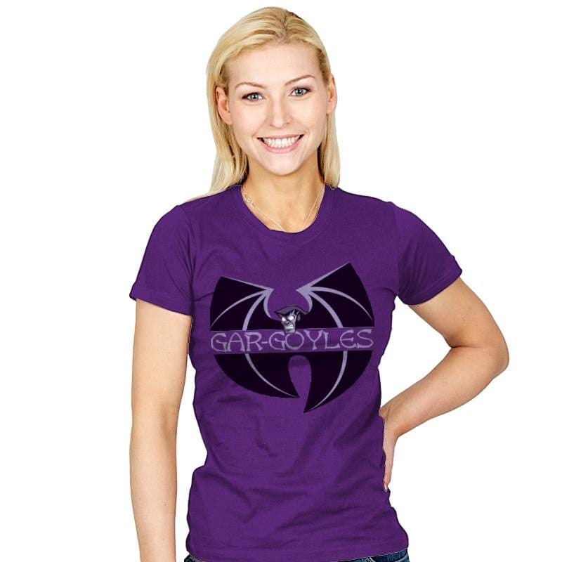 Gar-goyles - Womens - T-Shirts - RIPT Apparel