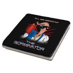 The Worminator - Coasters - Coasters - RIPT Apparel