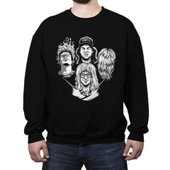 Not Worthy Rhapsody - Crew Neck Sweatshirt - Crew Neck Sweatshirt - RIPT Apparel