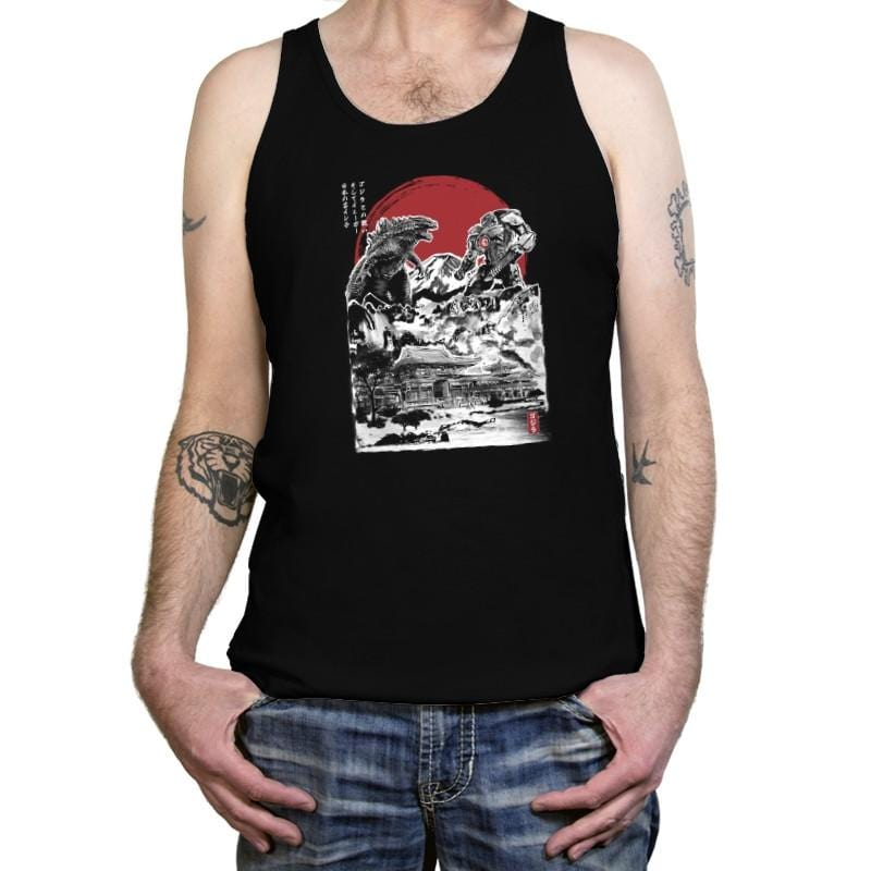 Attack on Japanese Temple - Tanktop - Tanktop - RIPT Apparel