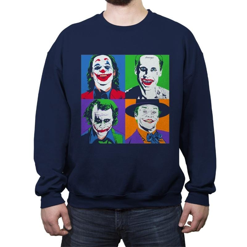 Pop Joke - Crew Neck Sweatshirt - Crew Neck Sweatshirt - RIPT Apparel