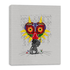 Graffiti Mask - Canvas Wraps - Canvas Wraps - RIPT Apparel