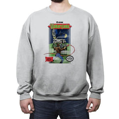 Walkervania - Crew Neck Sweatshirt - Crew Neck Sweatshirt - RIPT Apparel