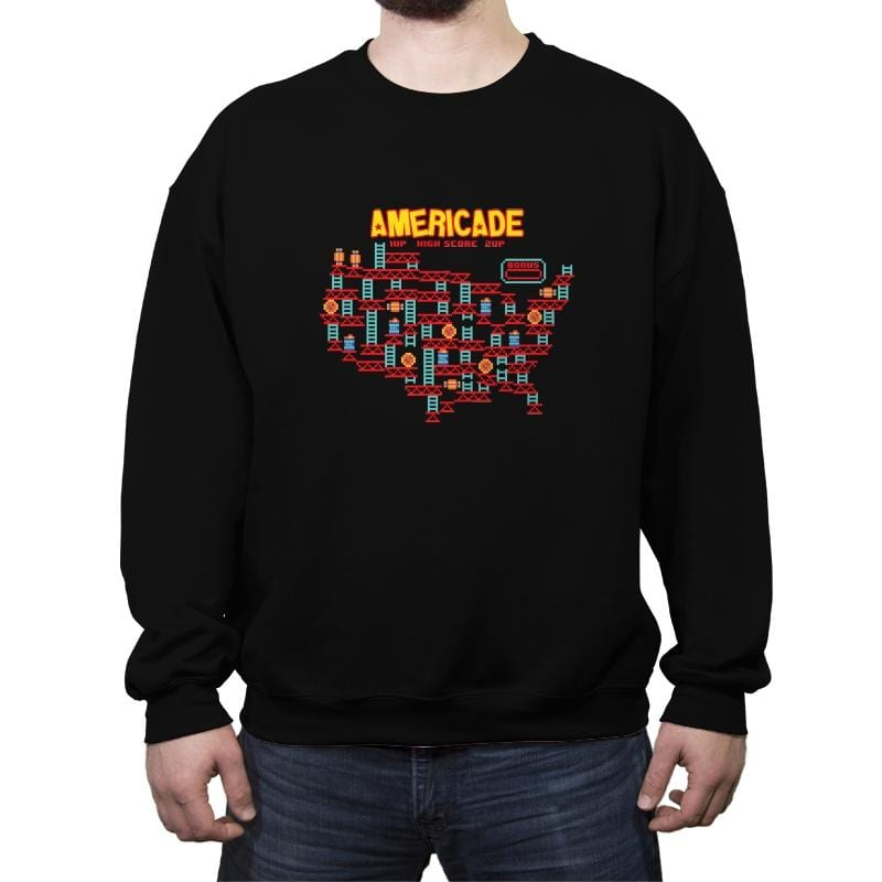 Americade - Crew Neck Sweatshirt - Crew Neck Sweatshirt - RIPT Apparel