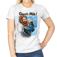 Giant's Milk! - Womens - T-Shirts - RIPT Apparel