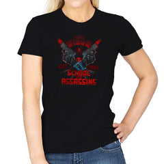 Nat's School for Assassins Exclusive - Womens - T-Shirts - RIPT Apparel