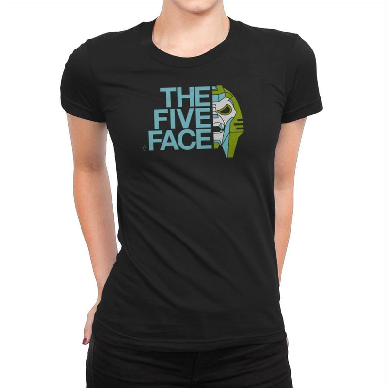 The Five Face Exclusive - Womens Premium - T-Shirts - RIPT Apparel