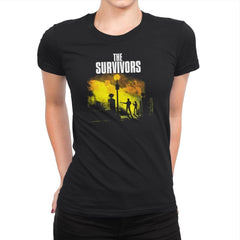 The Survivors Exclusive - Dead Pixels - Womens Premium - T-Shirts - RIPT Apparel