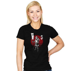 Samurai Empire - Womens - T-Shirts - RIPT Apparel