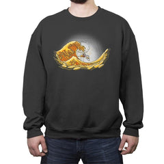 Money Wave - Crew Neck Sweatshirt - Crew Neck Sweatshirt - RIPT Apparel
