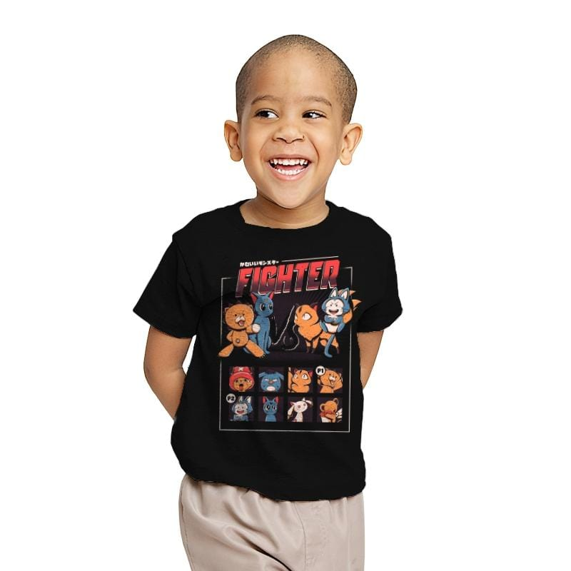 Anime fight - Youth - T-Shirts - RIPT Apparel