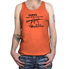 Guns Don't Kill Walkers Exclusive - Tanktop - Tanktop - RIPT Apparel