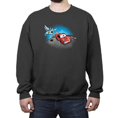 Lightning vs Shell Exclusive - Crew Neck Sweatshirt - Crew Neck Sweatshirt - RIPT Apparel