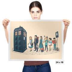 The Doctor's Express - Prints - Posters - RIPT Apparel