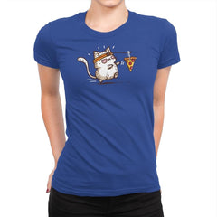Self Meowtivation - Womens Premium - T-Shirts - RIPT Apparel