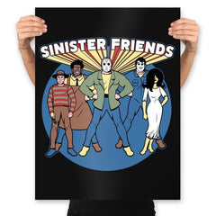 Snisiter Friends - Prints - Posters - RIPT Apparel