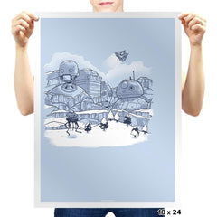 Mt. Droidmore Exclusive - Prints - Posters - RIPT Apparel