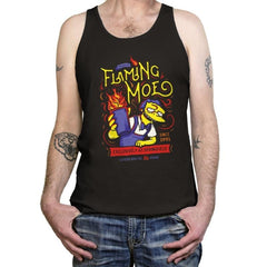 Flaming Moe - Tanktop - Tanktop - RIPT Apparel