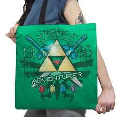 Hyrule Adventurer Exclusive - Tote Bag - Tote Bag - RIPT Apparel