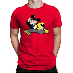 Mousopoly - Mens Premium - T-Shirts - RIPT Apparel