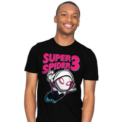 Super Spider Bros 3 - Mens - T-Shirts - RIPT Apparel
