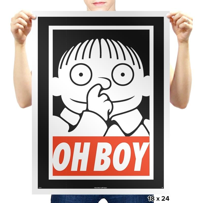 Oh Boy Exclusive - Prints - Posters - RIPT Apparel