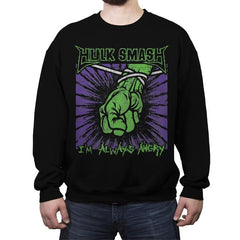 St. Smasher - Crew Neck Sweatshirt - Crew Neck Sweatshirt - RIPT Apparel