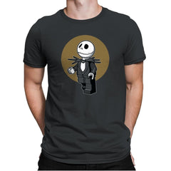 Brick Skellington Exclusive - Brick Tees - Mens Premium - T-Shirts - RIPT Apparel