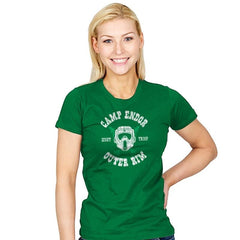 Camp Endor Reprint - Womens - T-Shirts - RIPT Apparel