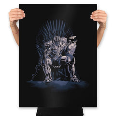 King of the Universe - Anytime - Prints - Posters - RIPT Apparel