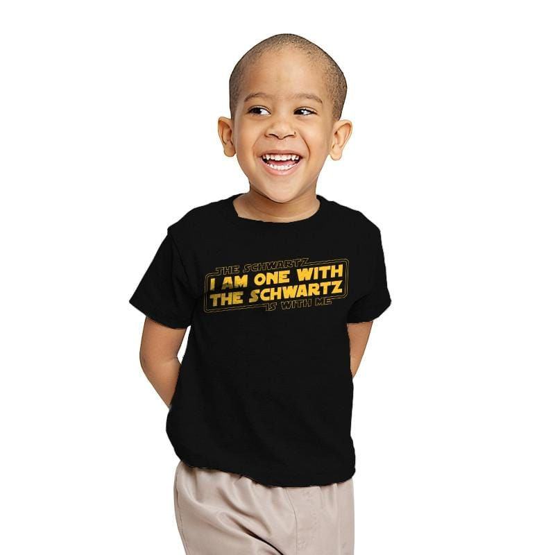 One With The Schwartz - Youth - T-Shirts - RIPT Apparel