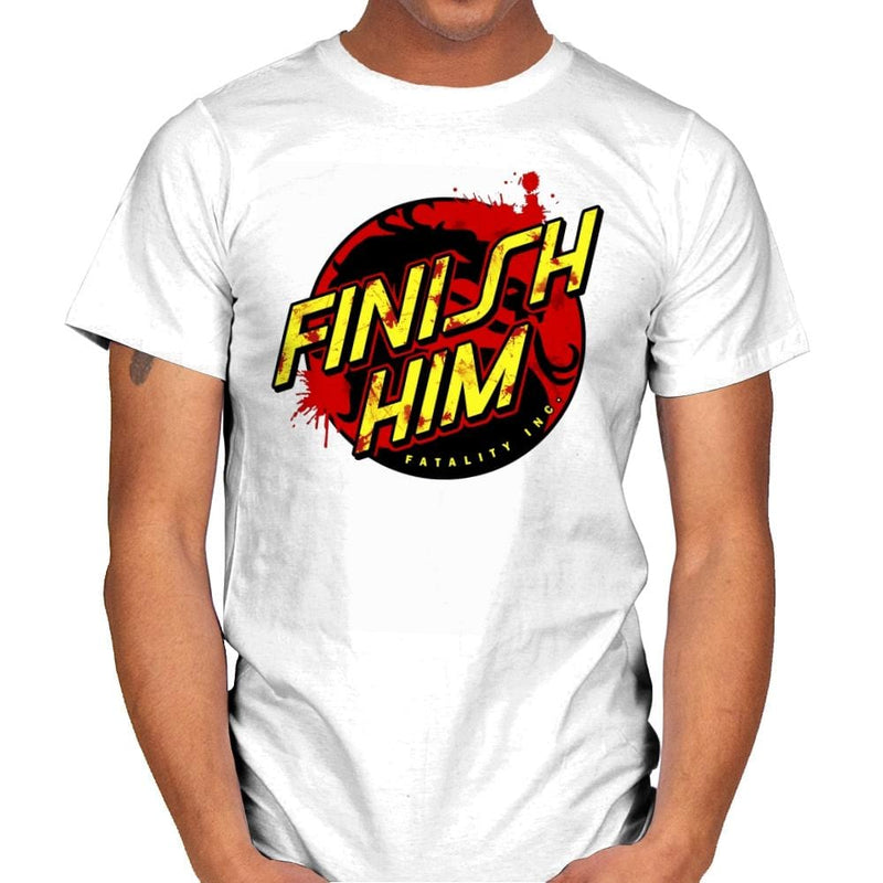 Finish Him! - Mens - T-Shirts - RIPT Apparel