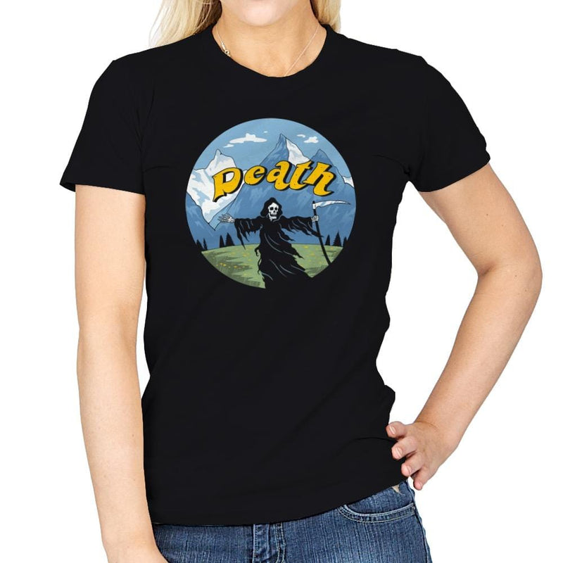 The Sound of Death - Womens - T-Shirts - RIPT Apparel
