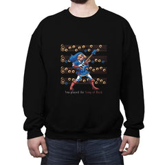 SONG OF ROCK - Crew Neck Sweatshirt - Crew Neck Sweatshirt - RIPT Apparel