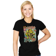 The Amazing Ninja Dude - Womens - T-Shirts - RIPT Apparel