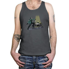 The Machete in the Stone - Tanktop - Tanktop - RIPT Apparel
