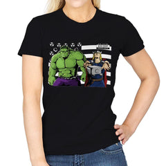 Bombs Over Asgard - Best Seller - Womens - T-Shirts - RIPT Apparel